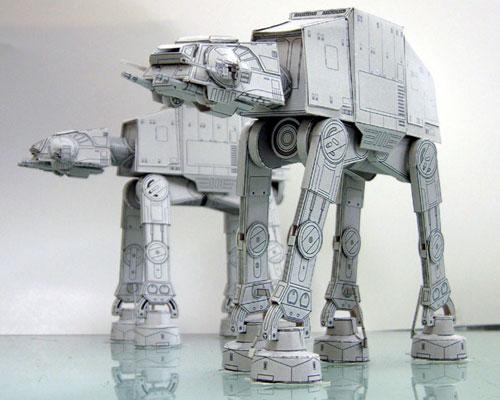 Бумажные модели (техника)